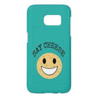funny cute joke say cheese samsung galaxy s7 case