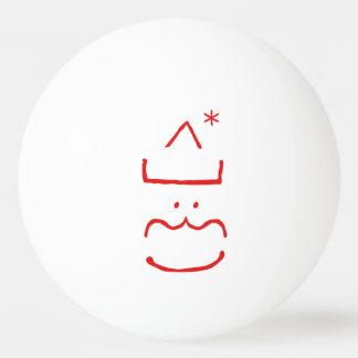 Funny Cute Jolly Santa Christmas Ping Pong Ball