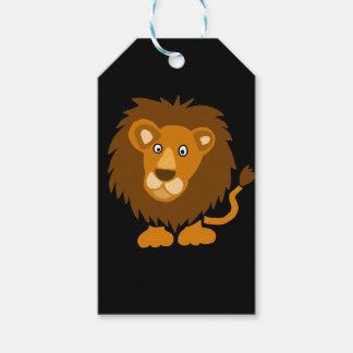 Funny Cute Lion Art Original Gift Tags