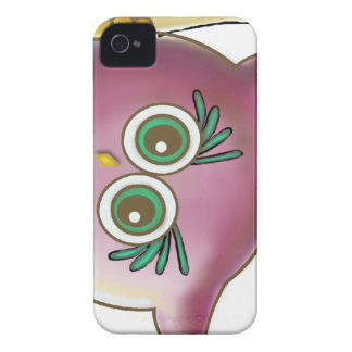 Funny Cute Owl Picture iPhone 4 Case