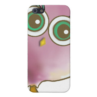Funny Cute Owl Picture iPhone 5 Cases