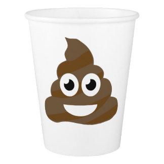 Funny Cute Poop Emoji Paper Cup