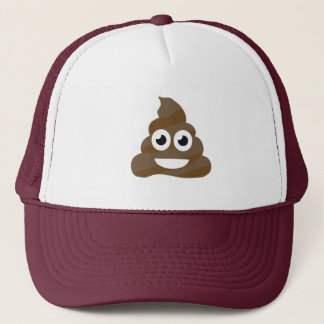 Funny Cute Poop Emoji Trucker Hat