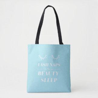 Funny Cute Quote Lash Nap Tote Bag