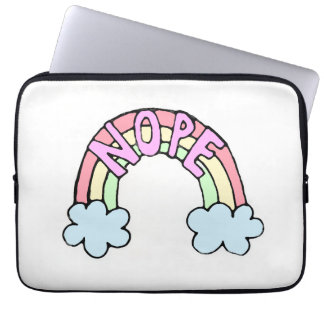 Funny Cute Rainbow Laptop Sleeve