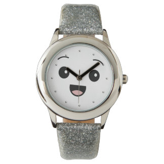 Funny Cute Smiley Face Watch