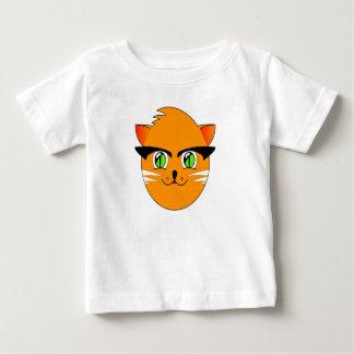 Funny Cute Smiling Cartoon Cat Baby's T-Shirt