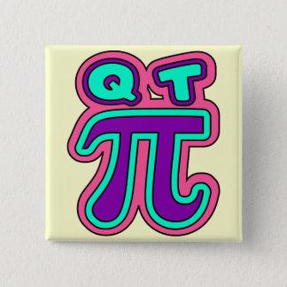 funny,cutie pie,edit background color 2 inch square button