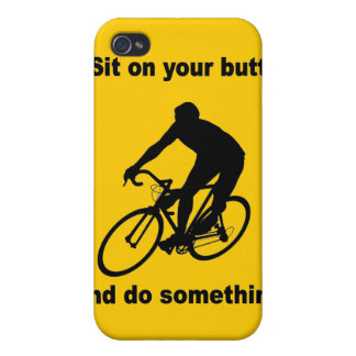 funny cycling iPhone 4/4S cover