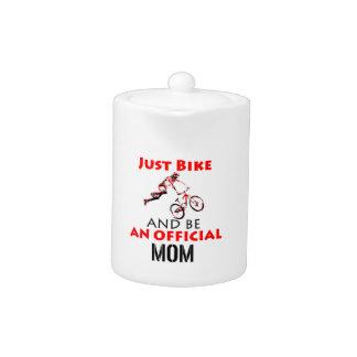 Funny Cycling mom