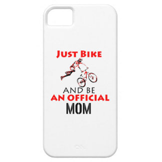 Funny Cycling mom iPhone 5 Covers