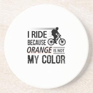Funny Cycling Tees Coaster