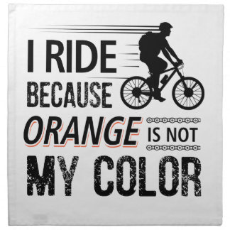 Funny Cycling Tees Napkin