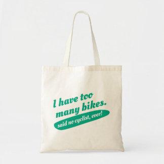 Funny Cycling Tote Bag. Bicycle Cycling Bike Bag