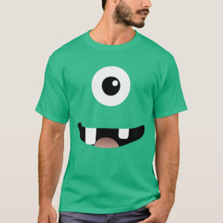 Funny Cyclops One-Eyed Monster Halloween Costume T-Shirt