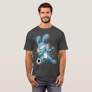 Funny Dabbing Easter Bunny Soccer Dab T-Shirt