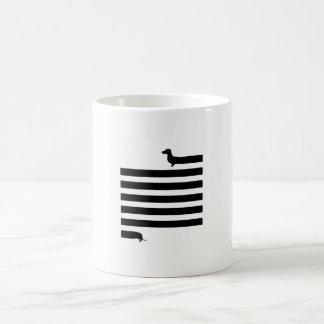Funny dachshund illustration mug