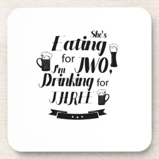 Funny Dad to Be Pregnancy Maternity Expecting Mens Coaster