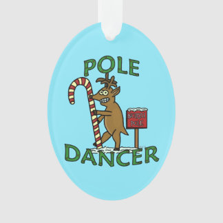 Funny Dancer Christmas Reindeer Pun