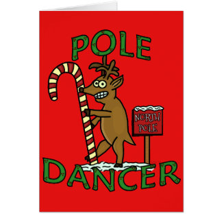 Cartoon christmas reindeer gifts t shirts art posters for Funny reindeer christmas cards