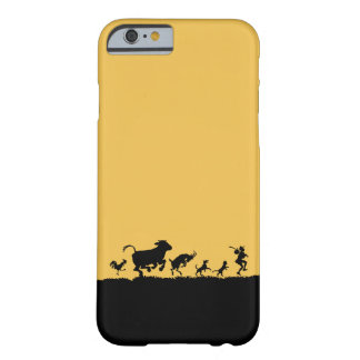 Funny Dancing Animals Cow Chicken Goat Silhouette Barely There iPhone 6 Case