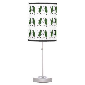 Funny Dancing Pickles Art Table Lamp