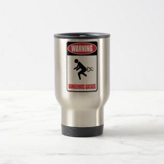 Funny Dangerous Gasses Travel Mug