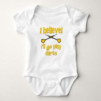 Funny Darts Baby Bodysuit