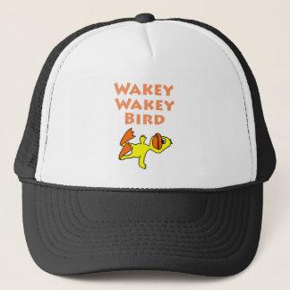 Funny Dead Duck Wakey Wakey Bird Trucker Hat