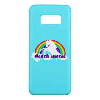 Funny Death Metal Unicorn and Rainbow Case-Mate Samsung Galaxy S8 Case