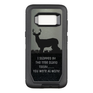 Funny Deer Hunting Tree Stand Phone Case