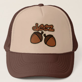 Funny deez nuts trucker hat