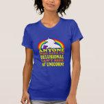 Funny Delusional Unicorn (distressed vintage) Tshirt