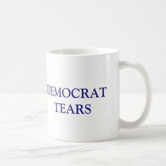 Funny Democrat Tears Republican Coffee Mug