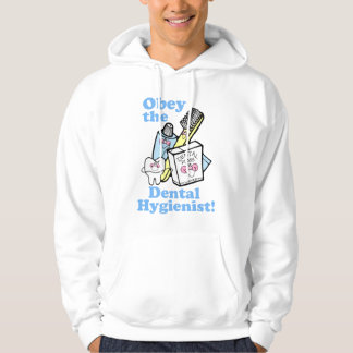 Funny Dental Hygienist Hoodie