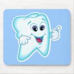 Funny Dental Hygienist Mousepad