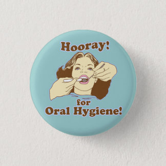 Funny Dental Professional 1 Inch Round Button