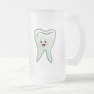 Funny Dentist Dental Hygienist 16 Oz Frosted Glass Beer Mug