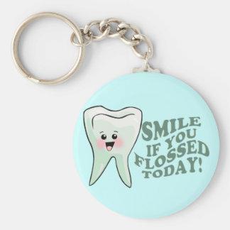 Funny Dentist Dental Hygienist Keychain