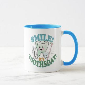 Funny Dentist Dental Hygienist Mug