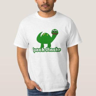 Funny Dinosaur Cartoon - Epoch Stache T-Shirt
