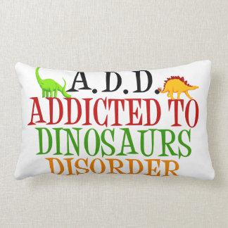 Funny Dinosaur Lumbar Pillow