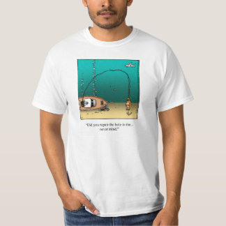 Funny Diving humor Tee Shirt
