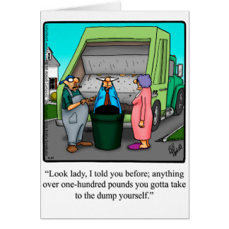 Funny Divorce Humor Greeting Card