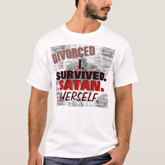 Funny Divorce T-Shirt