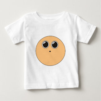 Funny dizzy animated face baby T-Shirt