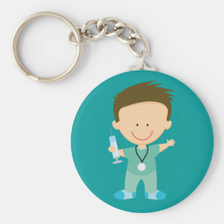 Funny Doctor or Intern Gift Keychain
