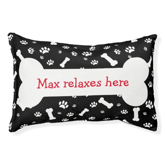 Funny Dog Bone Pillows