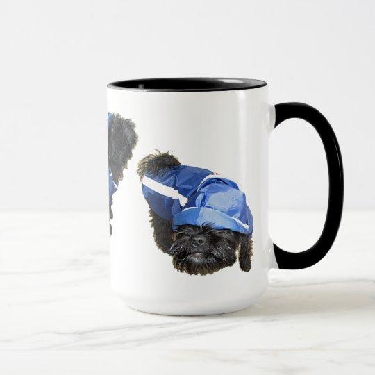 Funny dog mug
