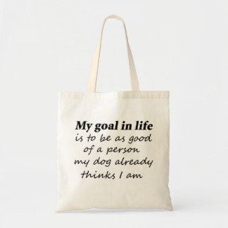 Funny dog quotes gifts reusable tote bags